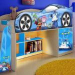 кровать чердак фото декора