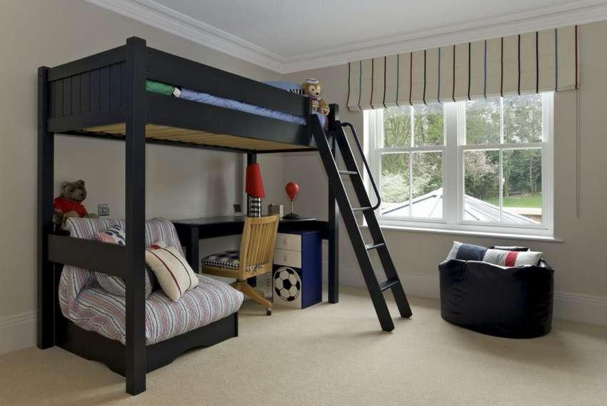 кровать чердак детская