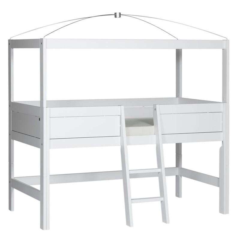 кровать чердак с балдахином