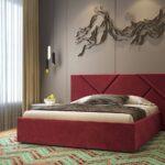 кровать с подъёмным механизмом фото декор