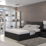 кровать с подъёмным механизмом идеи декора