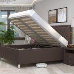 кровать с подъёмным механизмом фото интерьер