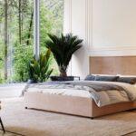кровать с подъёмным механизмом оформление идеи