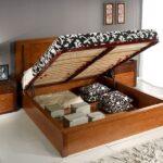 кровать с подъёмным механизмом виды декора