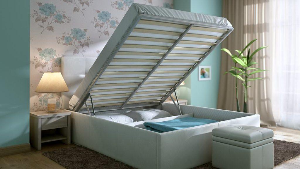 кровать с подъемным механизмом дизайн