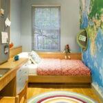 кровать у окна в спальне фото дизайна
