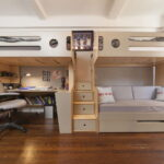 кровать для троих детей идеи дизайн