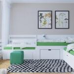 кровать для троих детей идеи дизайна