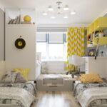 кровати для троих детей декор