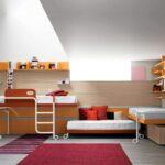кровати для троих детей декор идеи