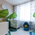 кровати для троих детей интерьер