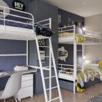 кровати для троих детей идеи интерьера