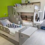 кровати для троих детей фото видов