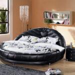 круглая кровать в комнату