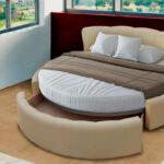 круглая кровать в помещение