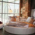 круглая кровать в дом