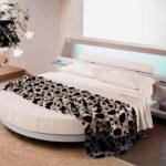 круглая кровать дизайн