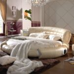 круглая кровать со спикной
