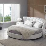 круглая кровать красивая
