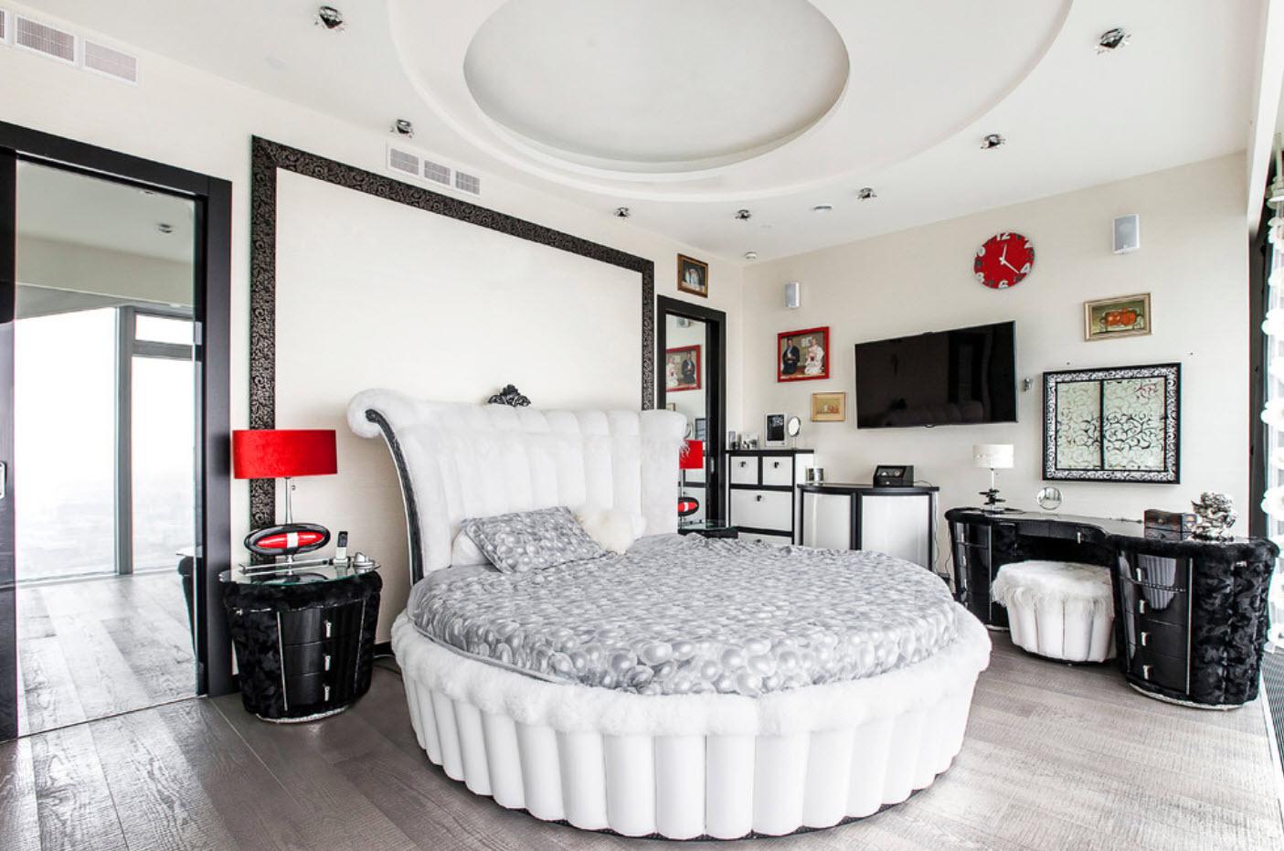 наслаждаюсь фото дизайна спален с круглой кровати поздравления именинами