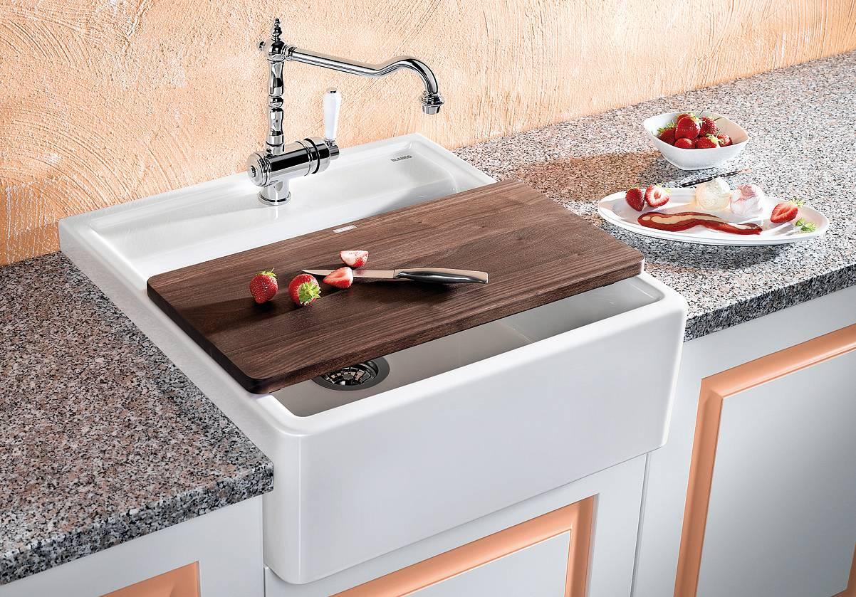 кухонная мойка с тумбой дизайн