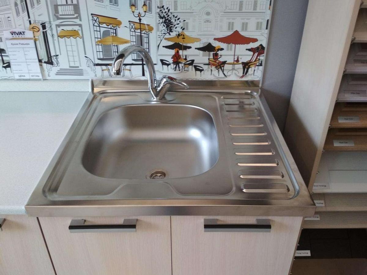 кухонная мойка с тумбой фото дизайн