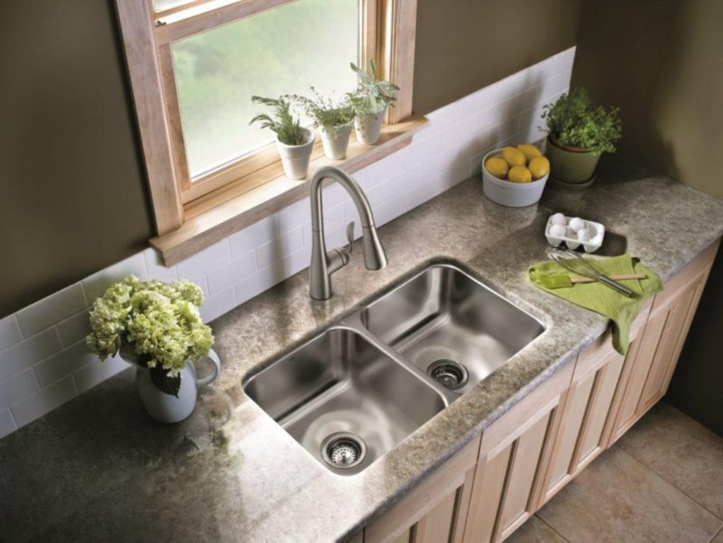 кухонная мойка с тумбой фото дизайна