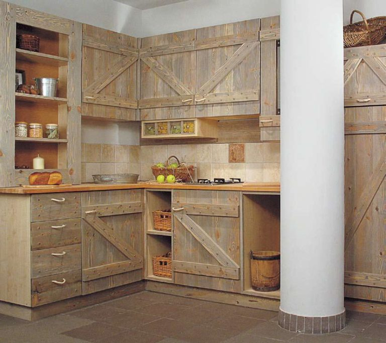 кухонный гарнитур из дерева своими руками фото подготовить начинку выложить