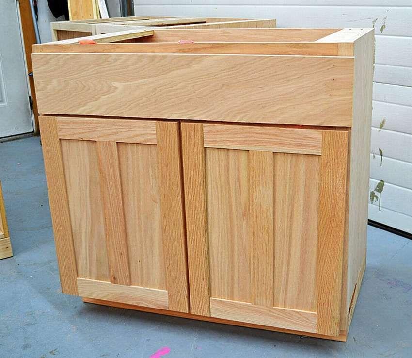 кухонный шкаф своими руками напольный