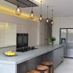 лампа над кухонным столом идеи дизайн