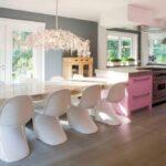 лампа над кухонным столом идеи варианты