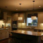 лампа над кухонным столом виды дизайна