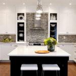 лампа над кухонным столом фото дизайна