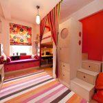 мебель для маленькой детской комнаты декор идеи