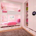 мебель для маленькой детской комнаты фото интерьер