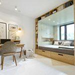 мебель для маленькой детской комнаты фото интерьера