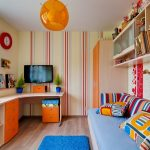 мебель для маленькой детской комнаты оформление
