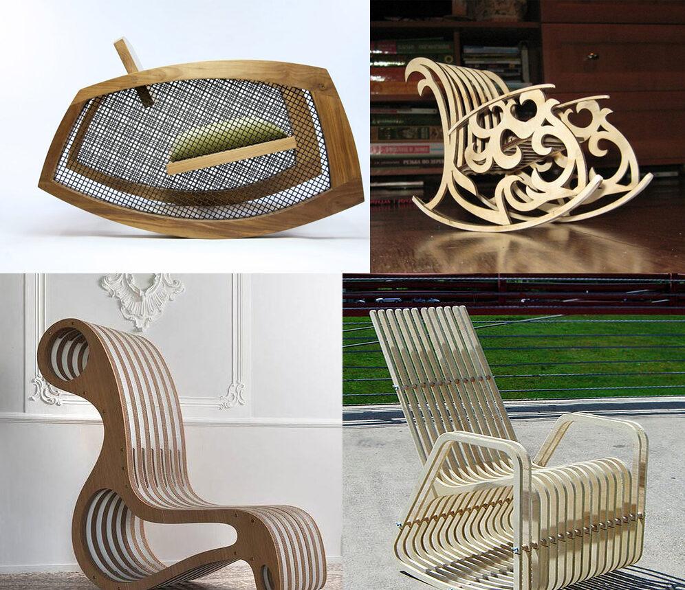 мебель из фанеры дизайнерская