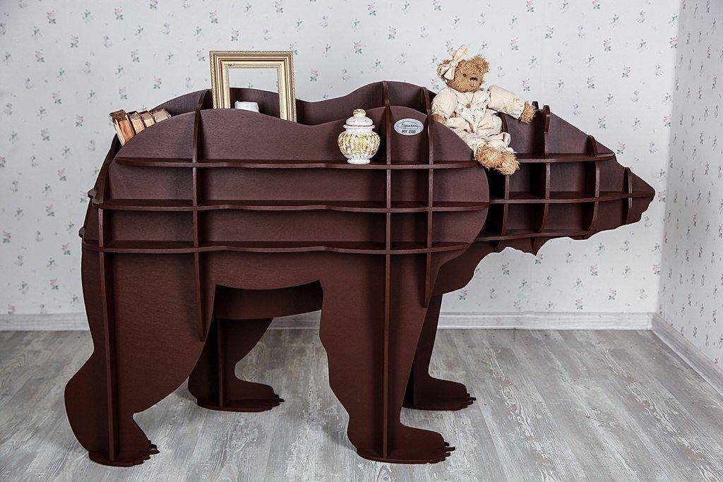 мебель из фанеры в виде животных