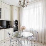 мебельный гарнитур на кухне