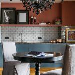 мебельный гарнитур на кухне фото интерьера