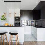 мебельный гарнитур на кухне оформление