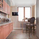 мебельный гарнитур на кухне фото оформление