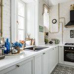 мебельный гарнитур на кухне фото оформления