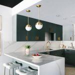 мебельный гарнитур на кухне оформление идеи