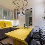 мебельный гарнитур на кухне идеи варианты