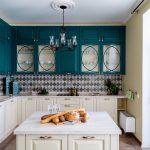 мебельный гарнитур на кухне виды