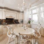 мебельный гарнитур на кухне виды оформления