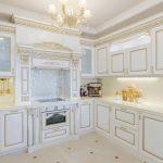 мебельный гарнитур на кухне дизайн