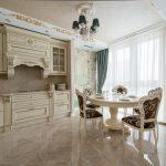мебельный гарнитур на кухне дизайн фото